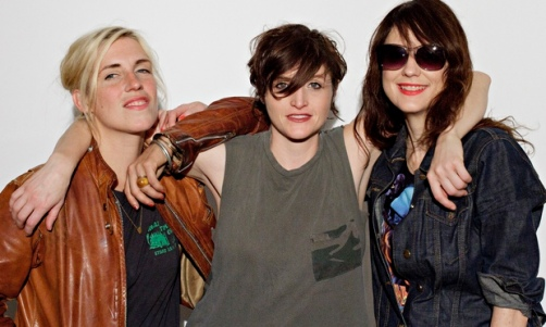 Ex Hex (from left: Laura Harris, Betsy Wright and Mary Timony)